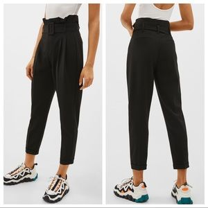 NWT. Paperbag pants/trousers. Size 6.